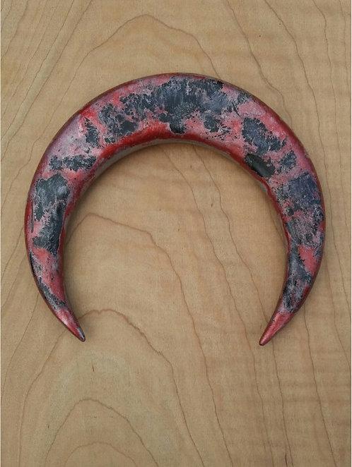 4 1/2 inch Ketylo Crescent Moon Hairfork
