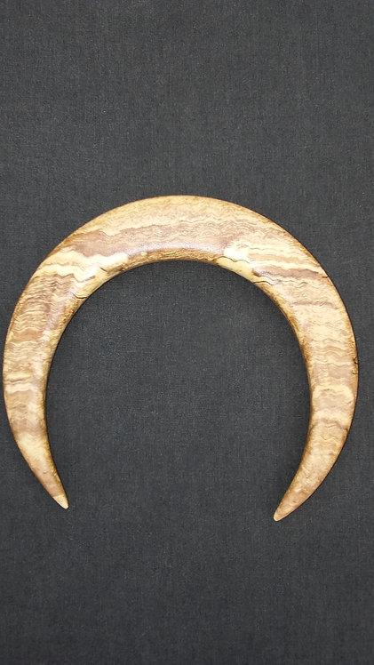 """4 1/2"""" Ketylo Crescent Moon Hairfork"""