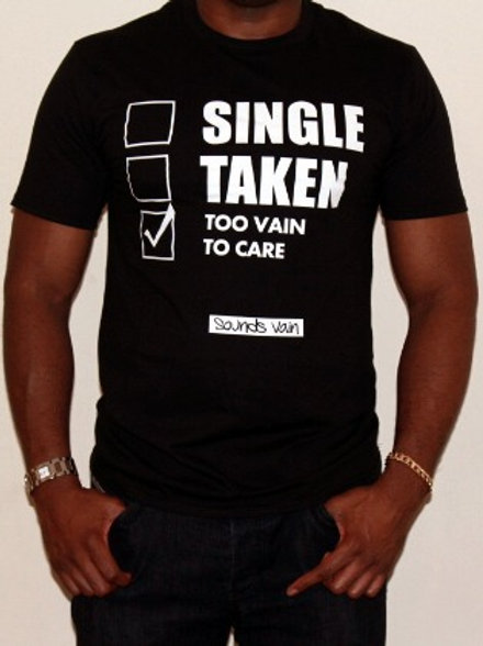 Gents Too Vain to Care Tee