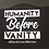 Thumbnail: Humanity Before Vanity Face Mask - Set of 3