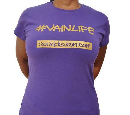 Ladies #VainLife Tee