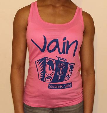 Pink Classic Vain Vest with Custom Logo
