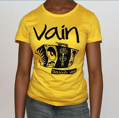 Classic Vain Tee with Black Logo