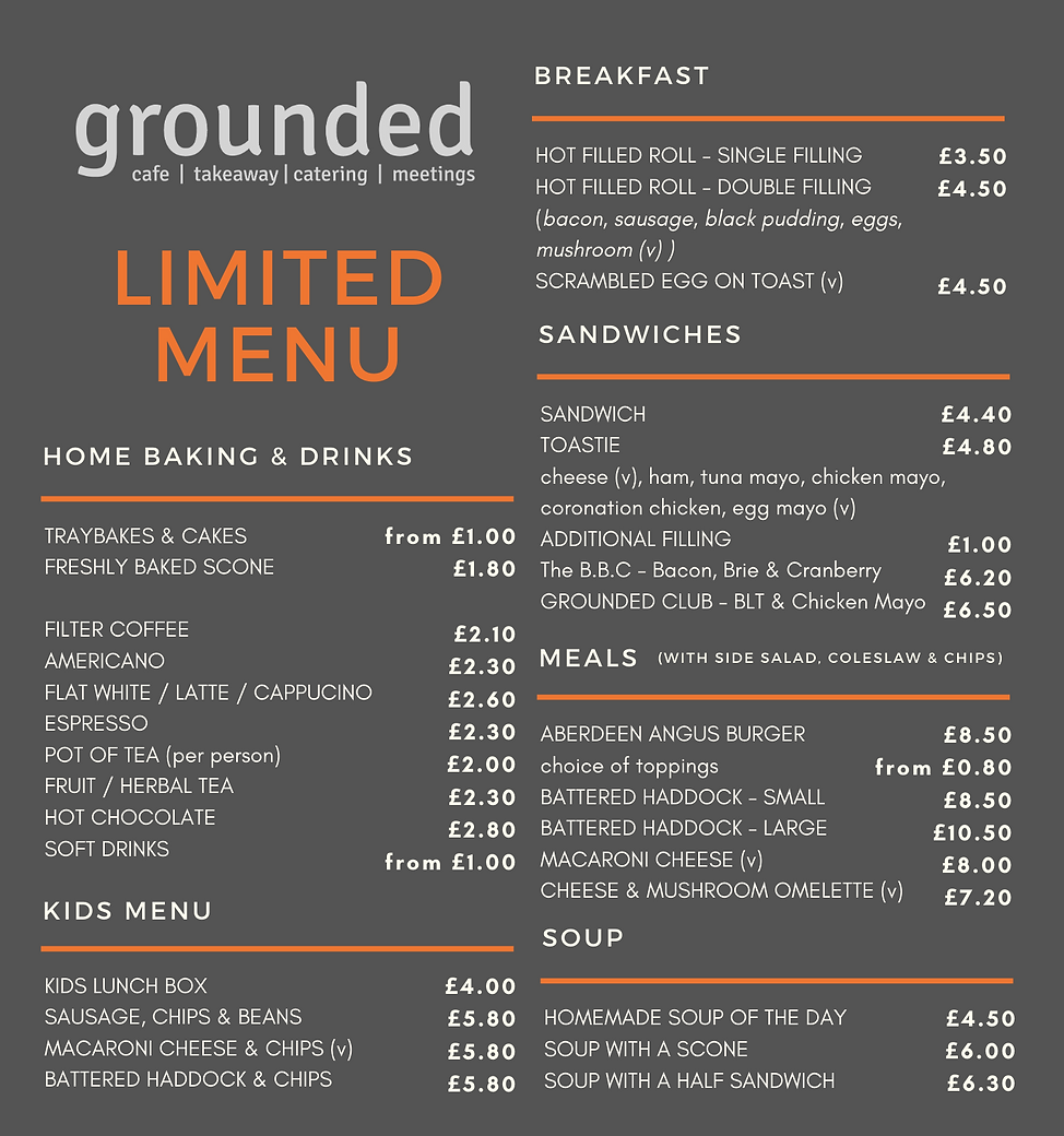 GROUNDED - LIMITED MENU - DOUBLE SIDED.p
