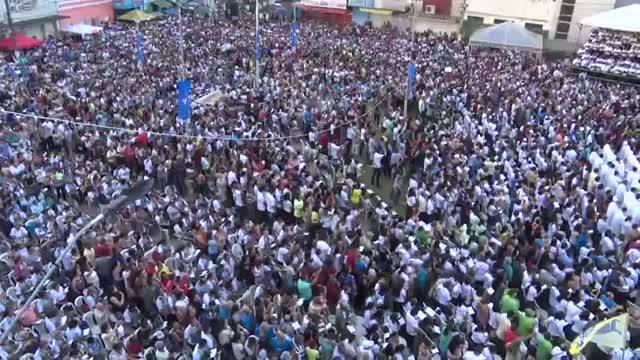 Milhares de fiéis participam da celebração eucarística dos 100 anos da diocese de Nazaré Cerca de 30 mil pessoas participaram da missa comemorativa dos cem anos de criação da Diocese de Nazaré - PE, no dia 05/08/18. A missa campal aconteceu na praça