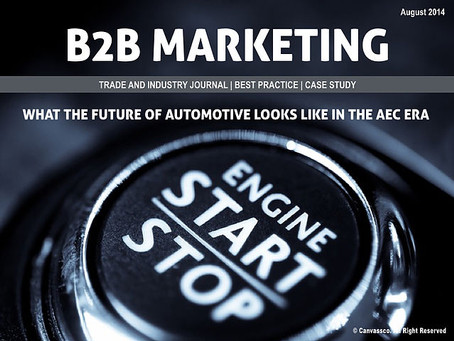 The Future of Automotive in The AEC Era
