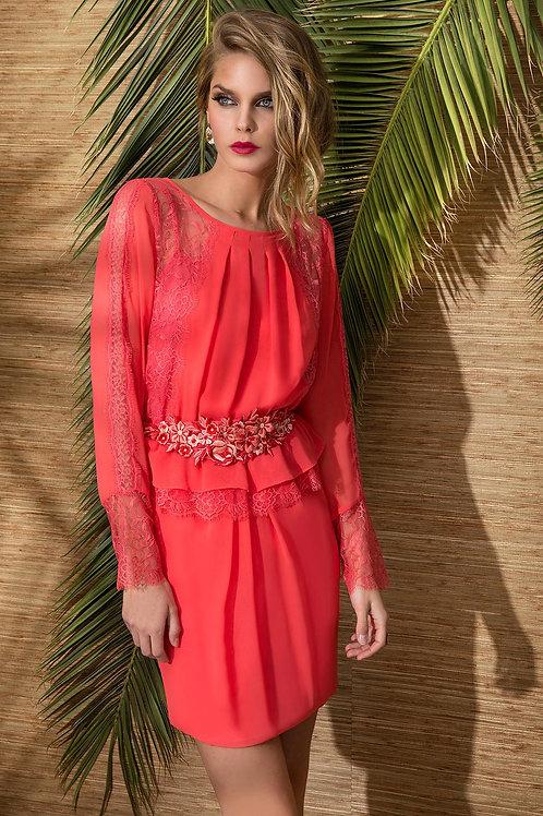 Vestido Coral Cabotine