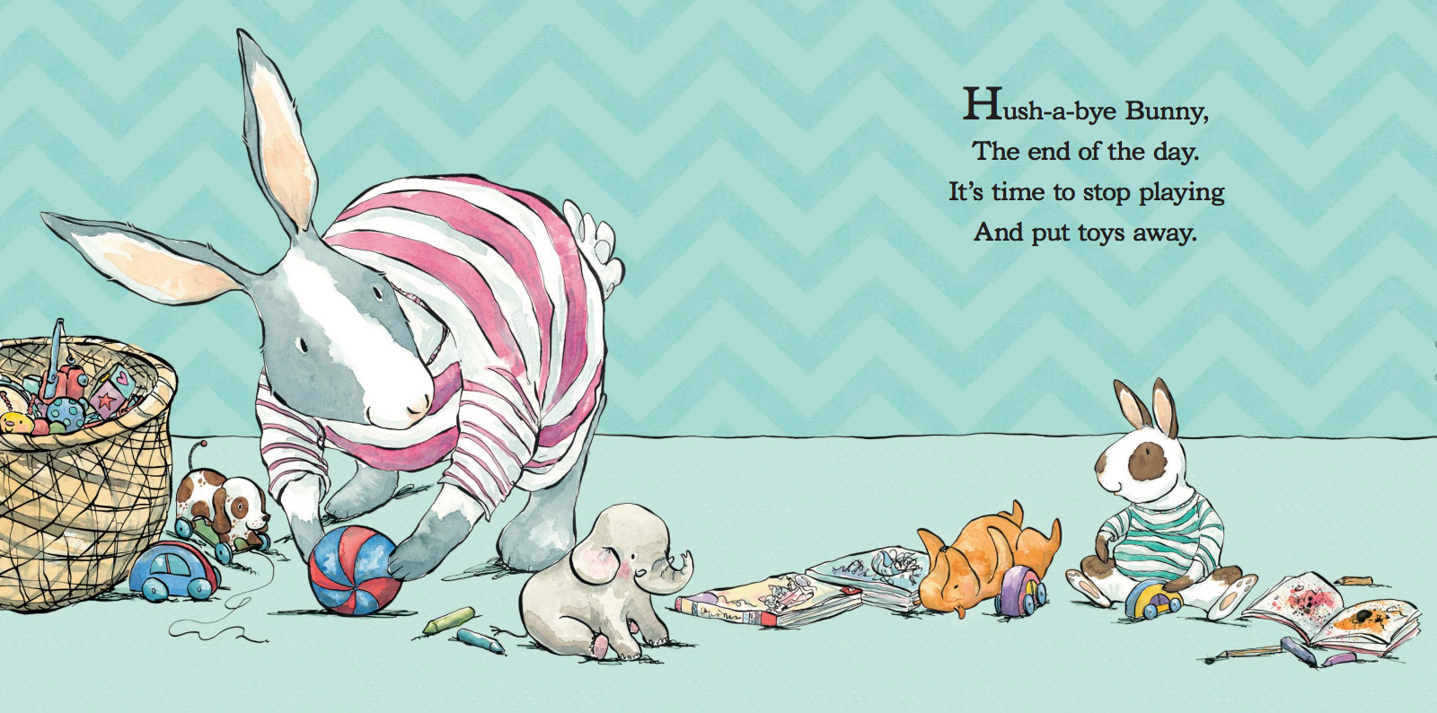 Hush a bye Bunny
