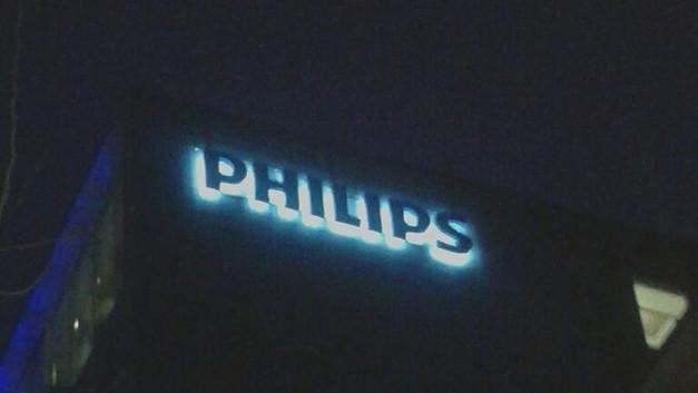 Letrero PHILIPS LED