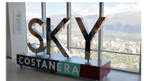 Costanera Sky cromado