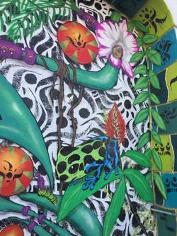 Tropical Futurism Mural