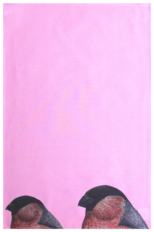 Bullfinch Tea towel