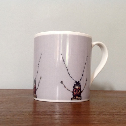 Large half beetles mug