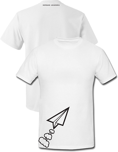 Herban legends Logo Tee (White)