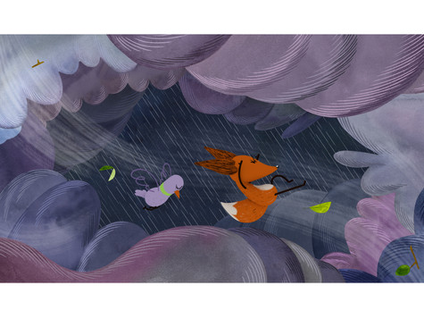 Group Film Design Exploration - The Fox and the Pigeon