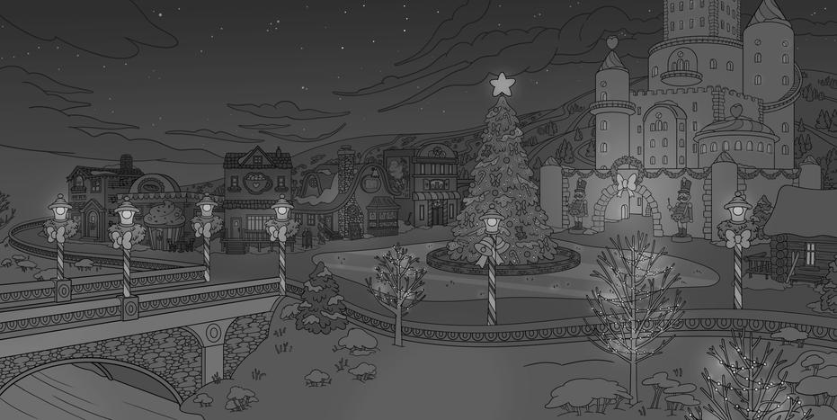 Christmas Scene Full image