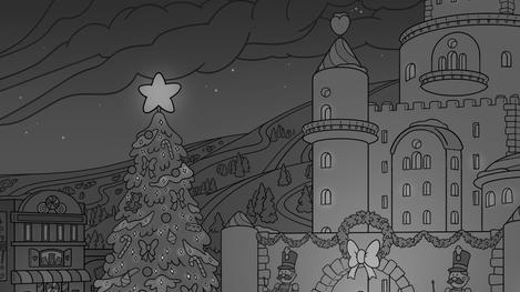 Christmas Scene Close Up 2
