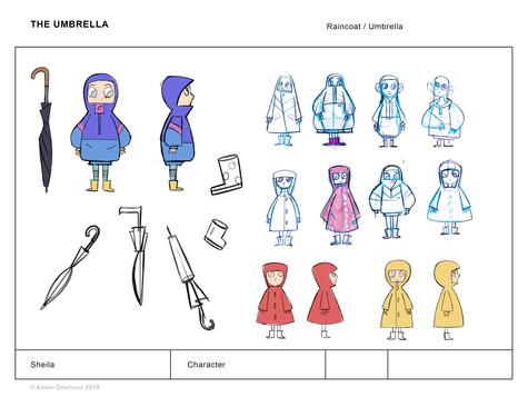 Sheila's Raincoat Exploration
