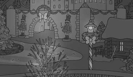 Christmas Scene Close Up 1
