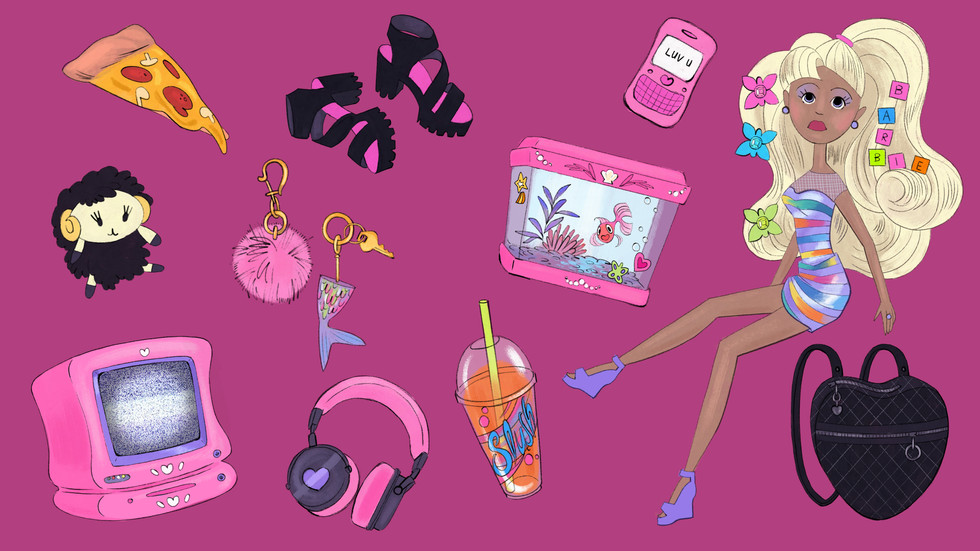 Barbie Props