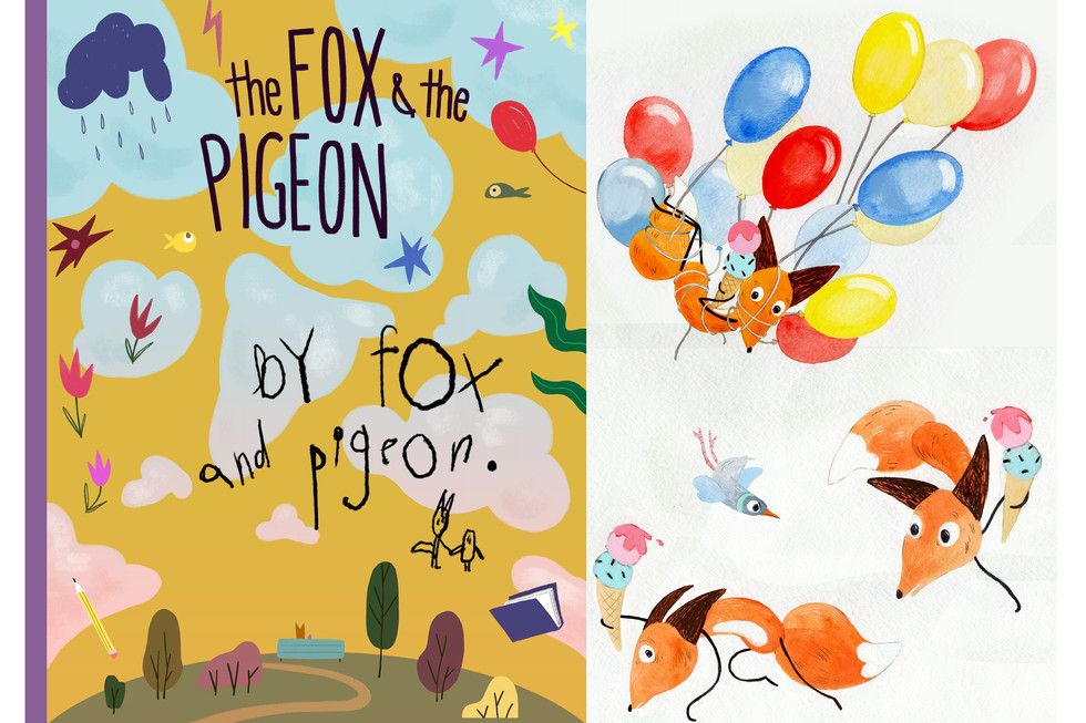 2018 - The Fox and the Pigeon Design Work - Sheridan College 3rd Year Film