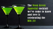 The Appletini Turns 21