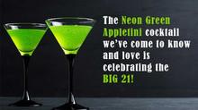 The Appletini Turns 21