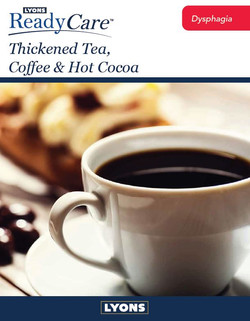 Thickened Coffee, Tea & Cocoa