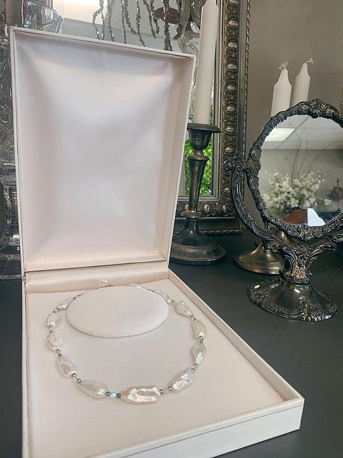 Pearls & Swarovski Crystal