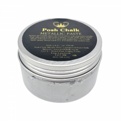 Pearl-Silver Metallic Paste
