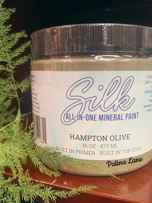 Hampton Olive- Silk All-In-One Mineral Paint