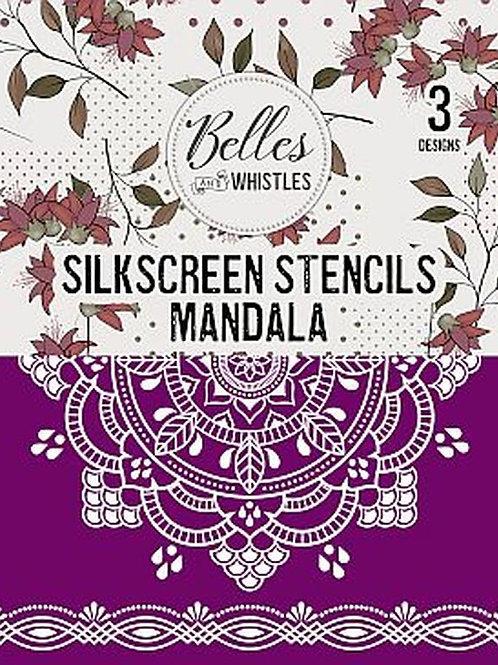 Mandala - Silkscreen Stencil