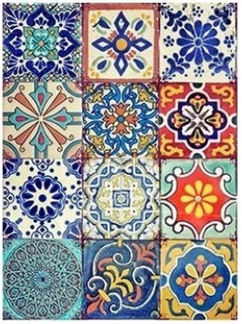 Set #12 Colorful Tiles