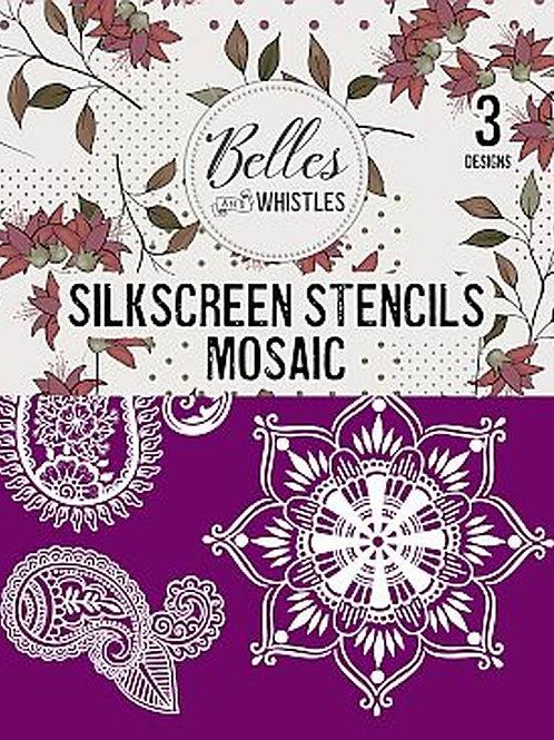 Mosaic - Silkscreen Stencil