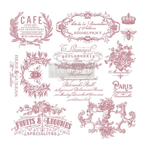 REDESIGN DECOR CLEAR-CLING STAMPS – I SEE PARIS