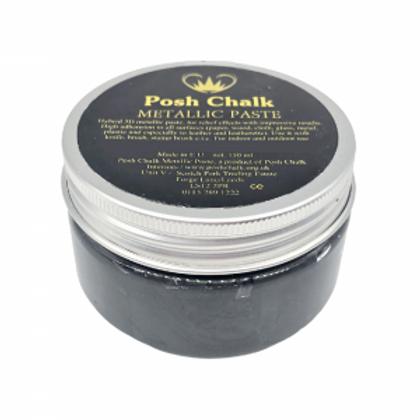 Black-Carbon Metallic Paste