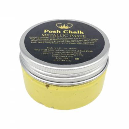Yellow-Canary-Cadmium Metallic Paste