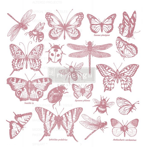 REDESIGN DECOR CLEAR-CLING STAMPS – MONARCH COLLECTION