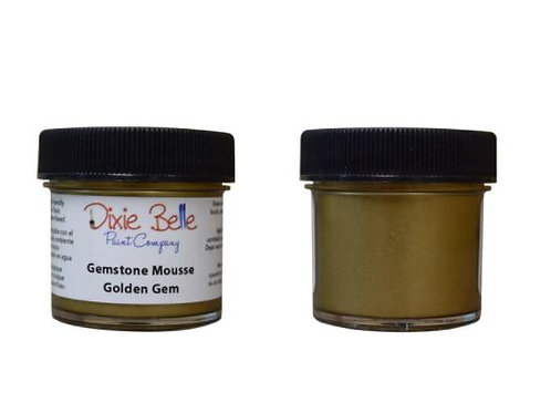 Golden Gem- Gemstone Mousse