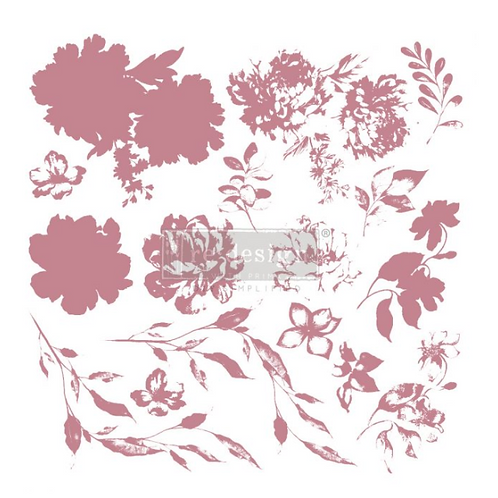 REDESIGN DECOR CLEAR-CLING STAMPS – SWEET BLOSSOMS