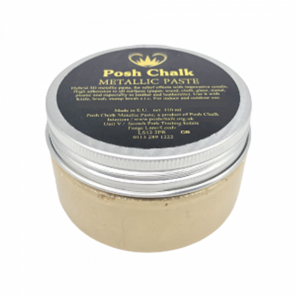 Shiny-Gold Metallic Paste