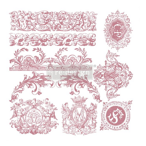 REDESIGN DECOR CLEAR-CLING STAMPS – CHATEAU DE SAVERNE