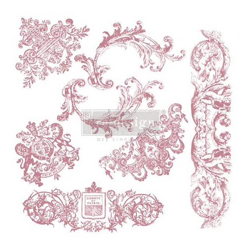 REDESIGN DECOR CLEAR-CLING STAMPS – CHATEAU DE MAISONS