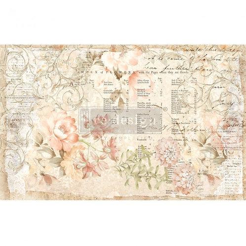 Floral Parchment