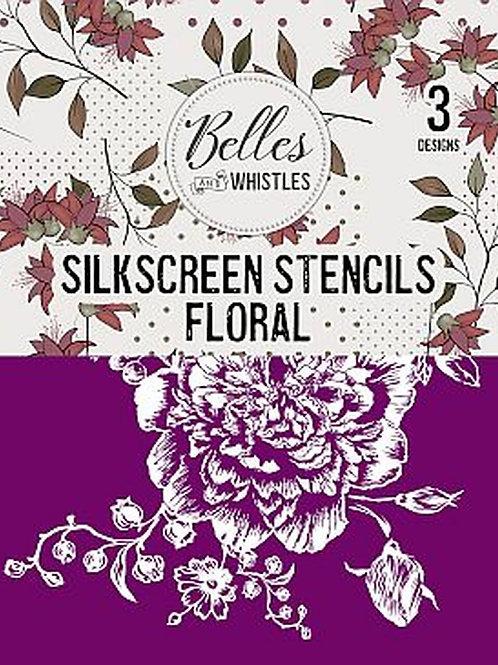 Floral - Silkscreen Stencil