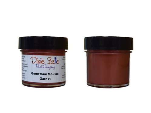 Garnet- Gemstone Mousse