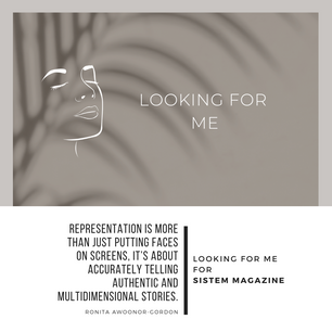 Looking for Me for Sistem Magazine