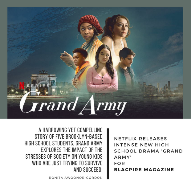 Netflix Releases Intense New High School Drama Grand Army
