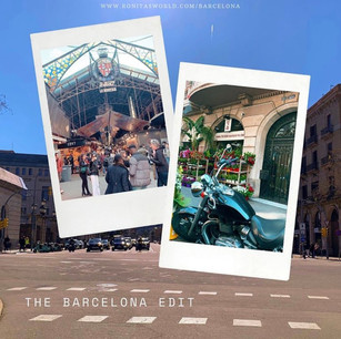 The Barcelona Edit for Ronita's World