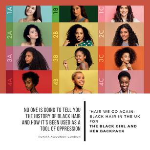 Hair We Go Again: Black Hair in the UK
